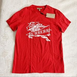 NWT Authentic Burberry Logo Front T Shirt